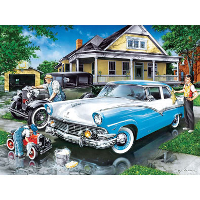Family Hour - Three Generations 400 Piece Jigsaw Puzzle