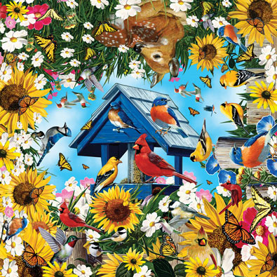 Life in the Garden 400 Piece Jigsaw Puzzle