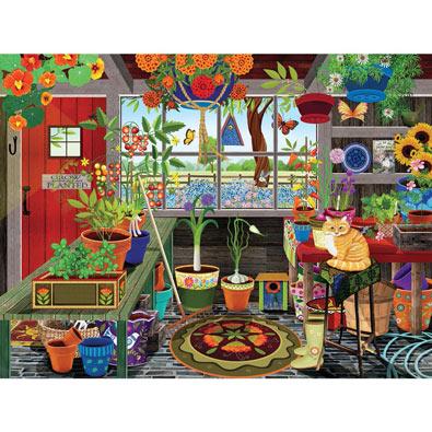 Greenhouse 300 Large Piece Jigsaw Puzzle