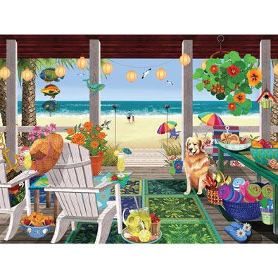 Beach House 300 Large Piece Jigsaw Puzzle