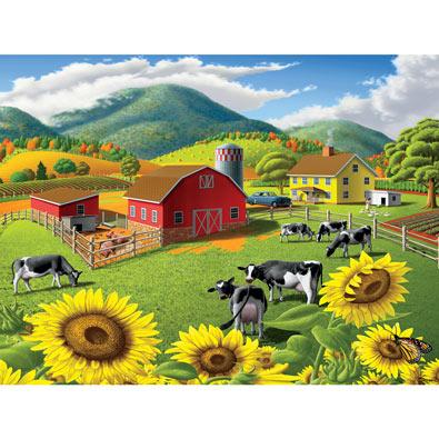 Sunflowers 550 Piece Jigsaw Puzzle