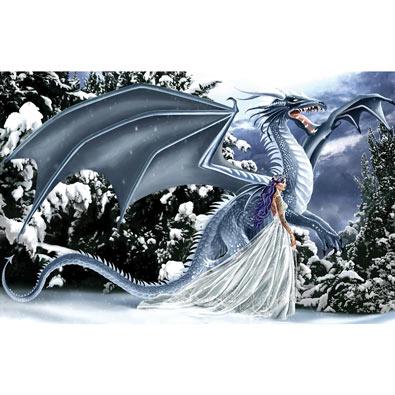 Ice Dragon 1000 Piece Jigsaw Puzzle