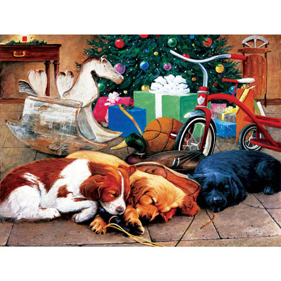 Christmas Dreams 300 Large Piece Jigsaw Puzzle