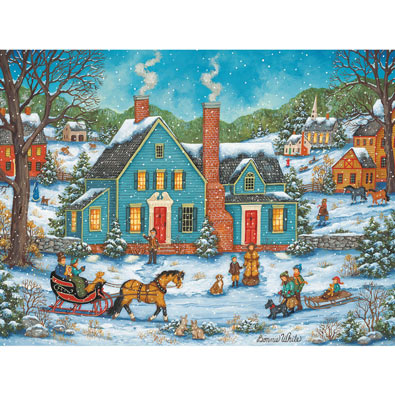 Sunday Afternoon 300 Large Piece Jigsaw Puzzle