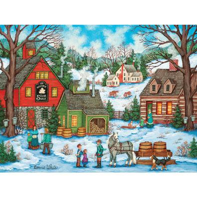 Hillside Sugar Shack 300 Large Piece Jigsaw Puzzle