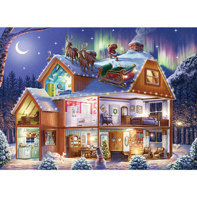 Santa on the Roof 1000 Piece Jigsaw Puzzle