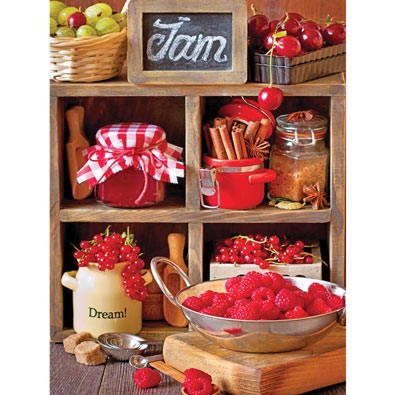 Canning Season 300 Large Piece Jigsaw Puzzle