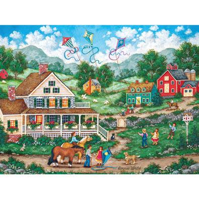 Crosswinds 550 Piece Jigsaw Puzzle