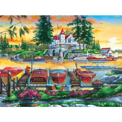 Millionaire's Row 300 Large Piece Jigsaw Puzzle