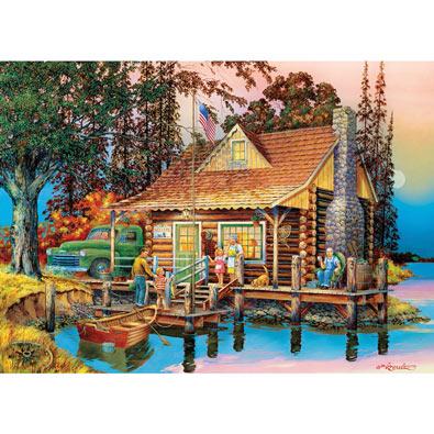 Grandpa's Cabin 1000 Piece Jigsaw Puzzle
