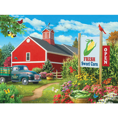 Country Heaven 300 Large Piece Jigsaw Puzzle