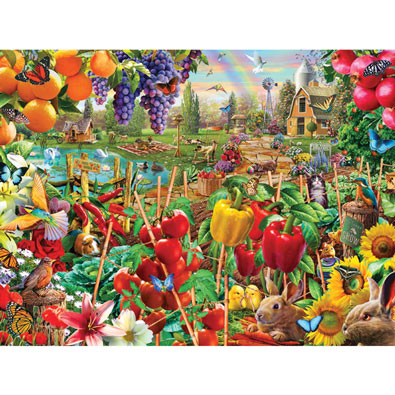 A Plentiful Season 300 Large Piece Jigsaw Puzzle
