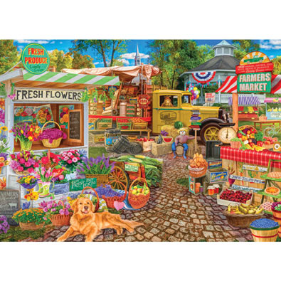 Sale on the Square 1000 Piece Jigsaw Puzzle