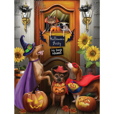 Halloween Party 300 Large Piece Jigsaw Puzzle