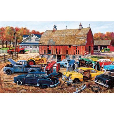 Barnyard Gems 550 Piece Jigsaw Puzzle