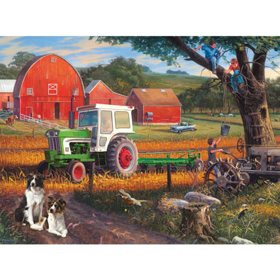The Farm 300 Large Piece Jigsaw Puzzle