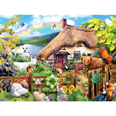 Luck of the Irish 300 Large Piece Jigsaw Puzzle