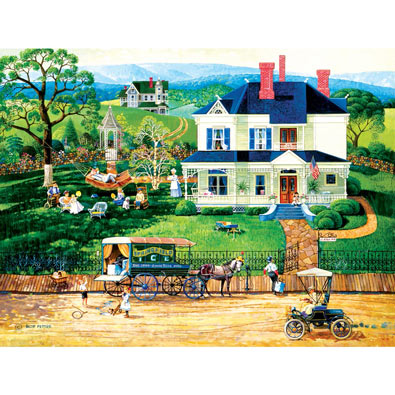 The Ice Wagon 500 Piece Jigsaw Puzzle