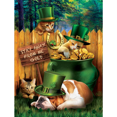 Stealing Me Gold 300 Large Piece Jigsaw Puzzle