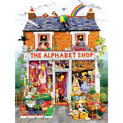 The Alphabet Shop 500 Piece Jigsaw Puzzle