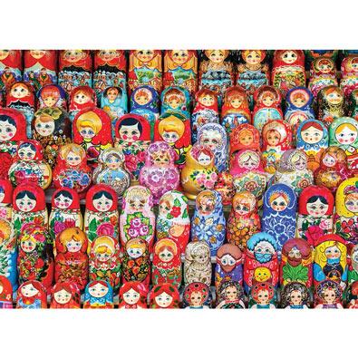 Russian Nesting Dolls 1000 Piece Jigsaw Puzzle