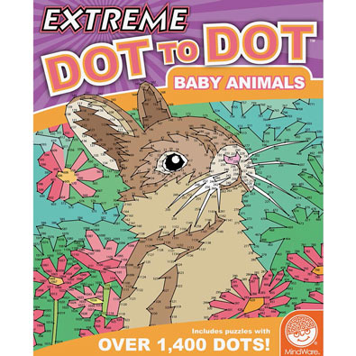 Baby Animals- Extreme Dot to Dots Book