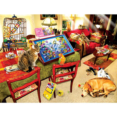 The Missing Piece 300 Large Piece Jigsaw Puzzle