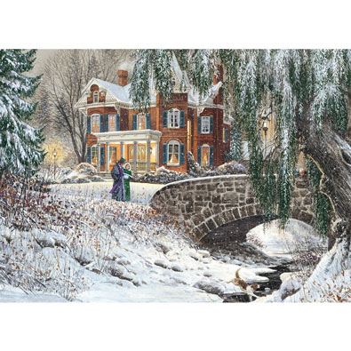 Winter Lace 1000 Piece Jigsaw Puzzle