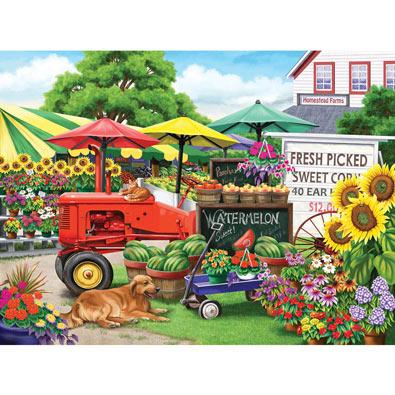 Farmstand Bounty 300 Large Piece Jigsaw Puzzle