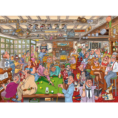 The Puzzlers Arms 1000 Piece Wasgij Puzzle