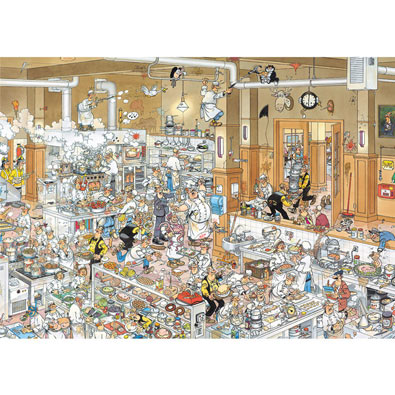 The Kitchen  500 Piece Jigsaw Puzzle