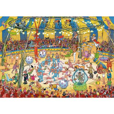 Acrobat Circus 1000 Piece Jigsaw Puzzle
