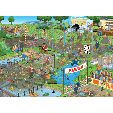 Mudracers 1000 Piece Jigsaw Puzzle