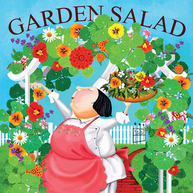 Garden Salad 300 Large Piece Jigsaw Puzzle