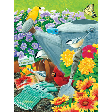 Welcome to the Garden Party 500 Piece Jigsaw Puzzle