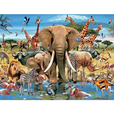Africana 1500 Piece Jigsaw Puzzle