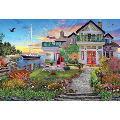 Coastal Escape 2000 Piece Jigsaw Puzzle