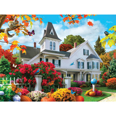 October Skies 300 Large Piece Jigsaw Puzzle