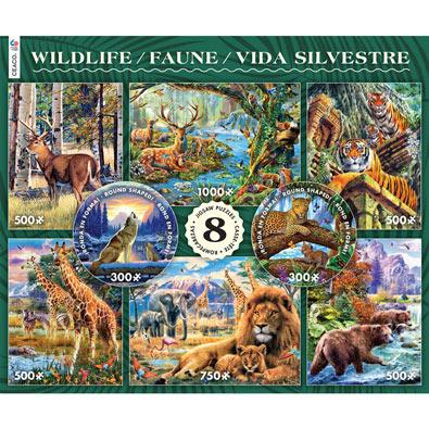 Wildlife 8 in 1 Multipack Set
