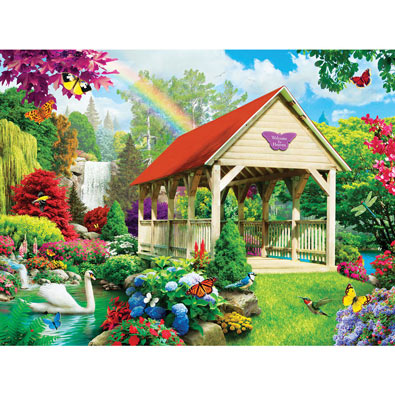 Welcome to Heaven 300 Large Piece Jigsaw Puzzle