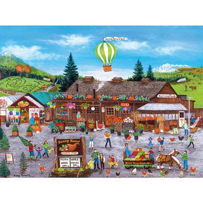 Sunny Farms 750 Piece Jigsaw Puzzle