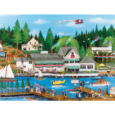 Roche Harbor 750 Piece Jigsaw Puzzle