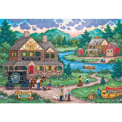 Adirondack Anglers 2000 Piece Jigsaw Puzzle