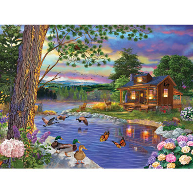 Peace River 1000 Piece Jigsaw Puzzle