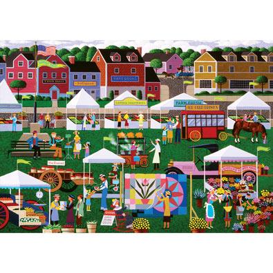 Farmers Market 300 Large Piece Jigsaw Puzzle