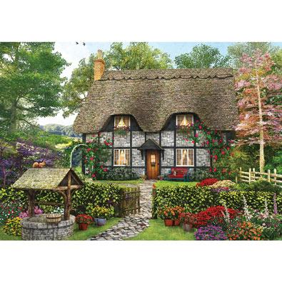 Meadow Cottage 1000 Piece Jigsaw Puzzle