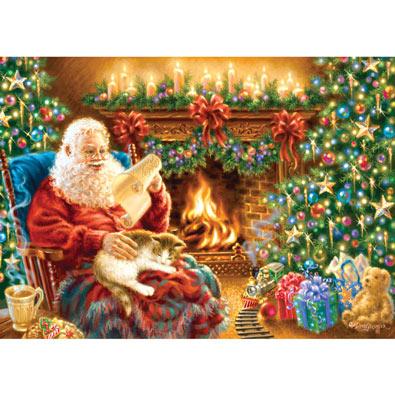 Christmas Dreams 500 Piece Glitter Jigsaw Puzzle