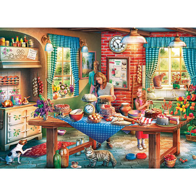Baking Bread 1000 Piece Jigsaw Puzzle