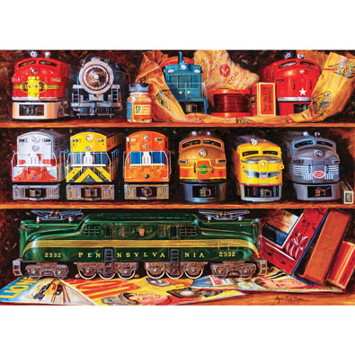 Well Stocked Shelves 1000 Piece Jigsaw Puzzle