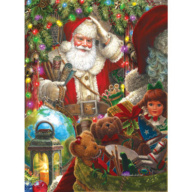 Ready to Go Santa 300 Large Piece Jigsaw Puzzle